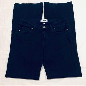 Paige skyline boot petite dark blue jeans size 28